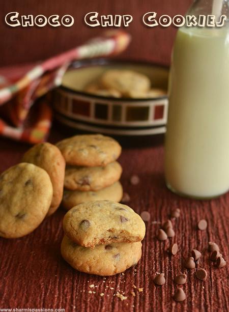 Choco Chip Cookies Recipe