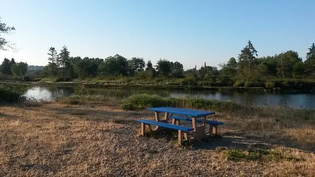 Remote spot for a picnic
