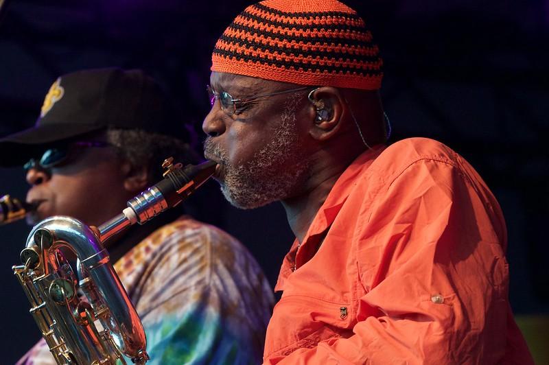 Dirty Dozen Brass Band with Blind Boys of Alabama at Ottawa Jazzfest