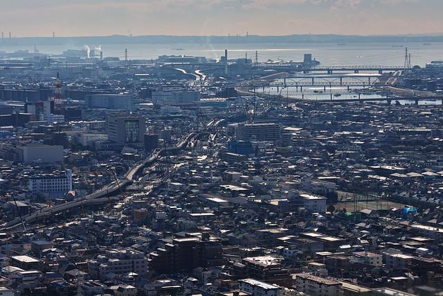 20170126_02_千葉県市川市のアイ・リンクタウン展望施設からの眺望