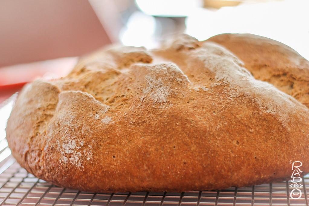 Fresh-Baked Homemade Artisanal Bread