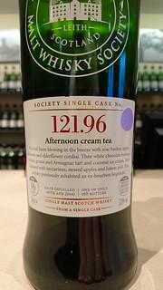 SMWS 121.96 - Afternoon cream tea