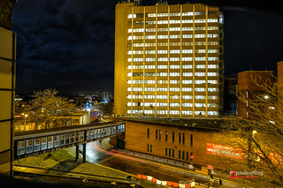 Preston at night | by Paul Melling Photography