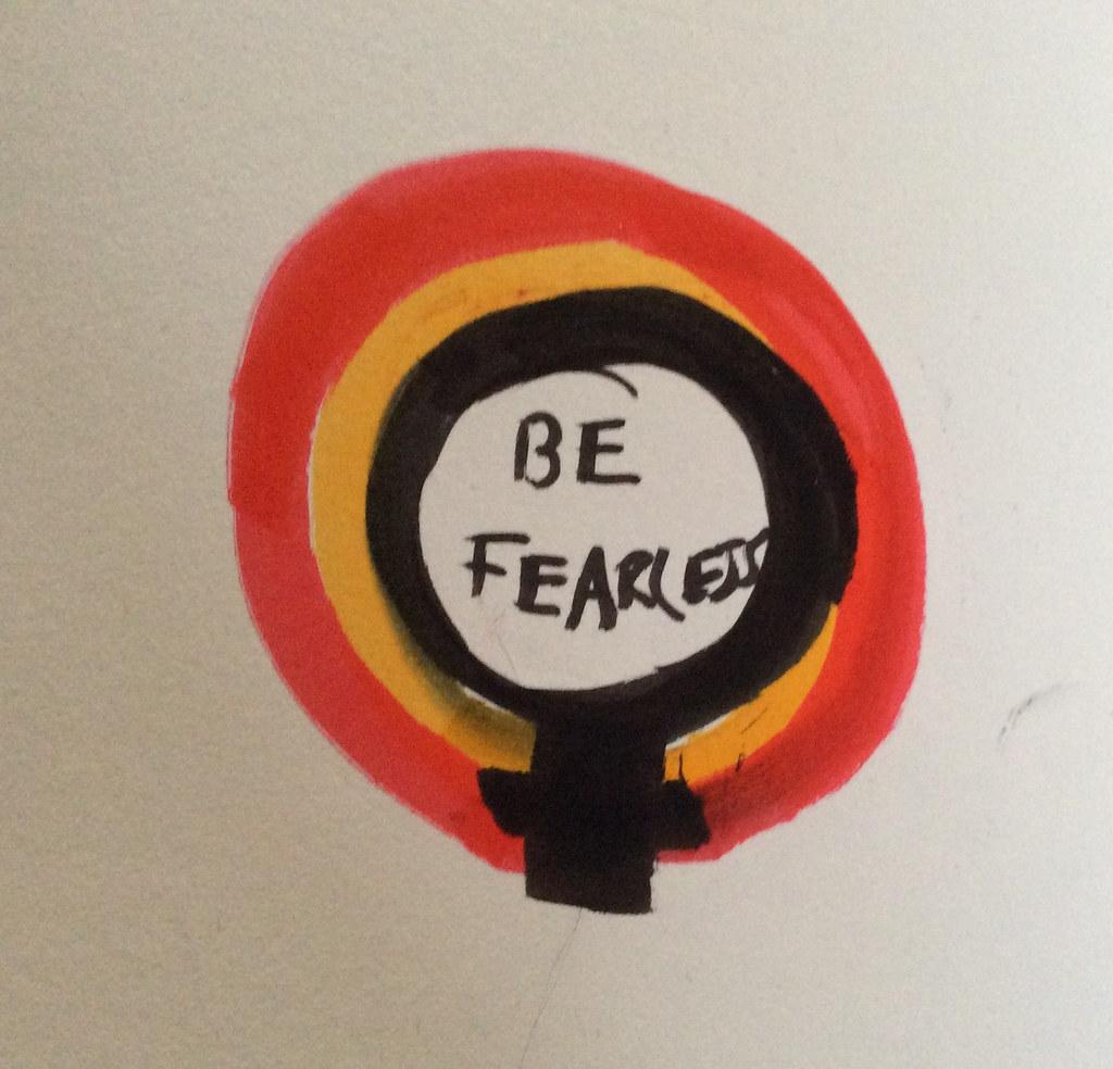 Craftivist Badge Step 1 © Alinah Azadeh