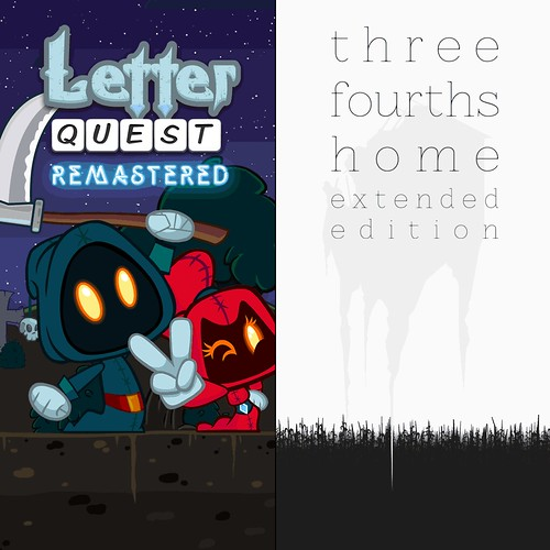 Letter Quest/Three Fourths Home Bundle