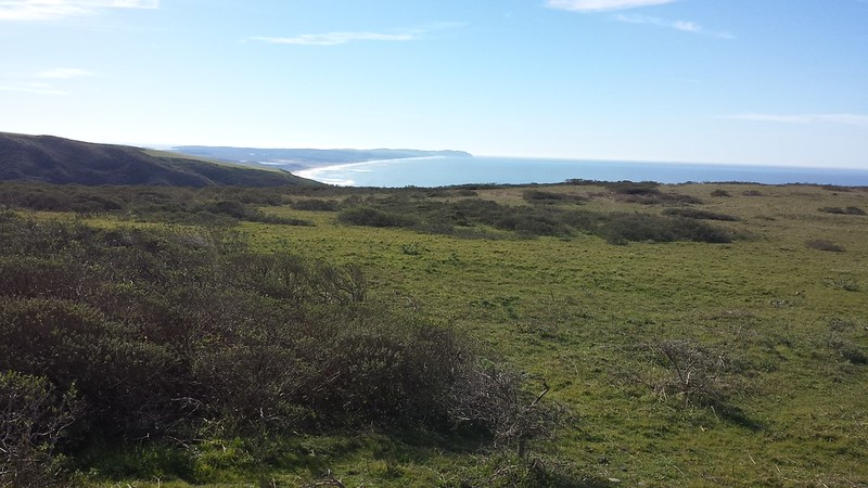 Southern view from Pierce Point
