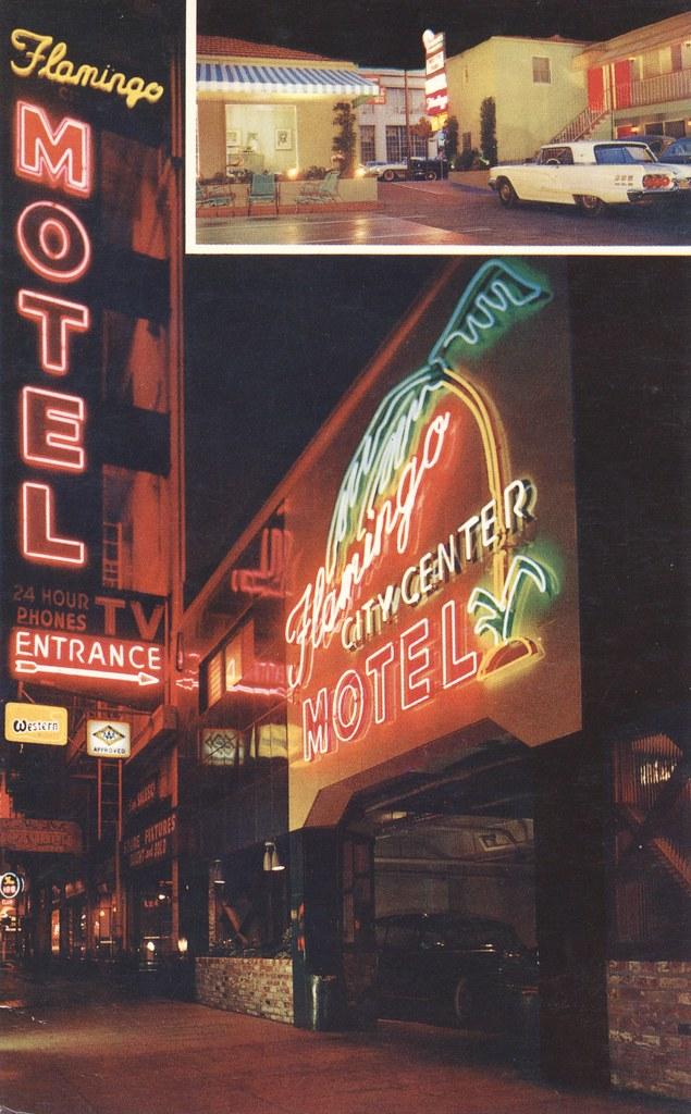 Motel Flamingo - San Francisco, California
