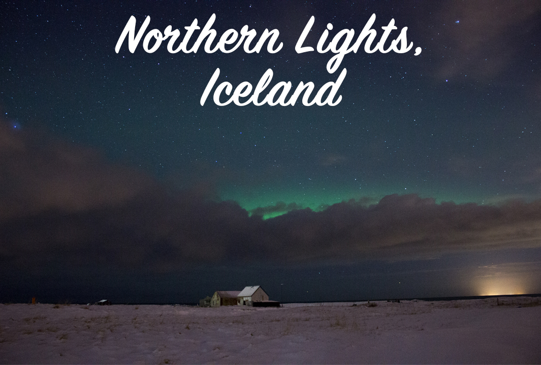 Photographing the northern lights outside Reykjavik with Arctic Shots
