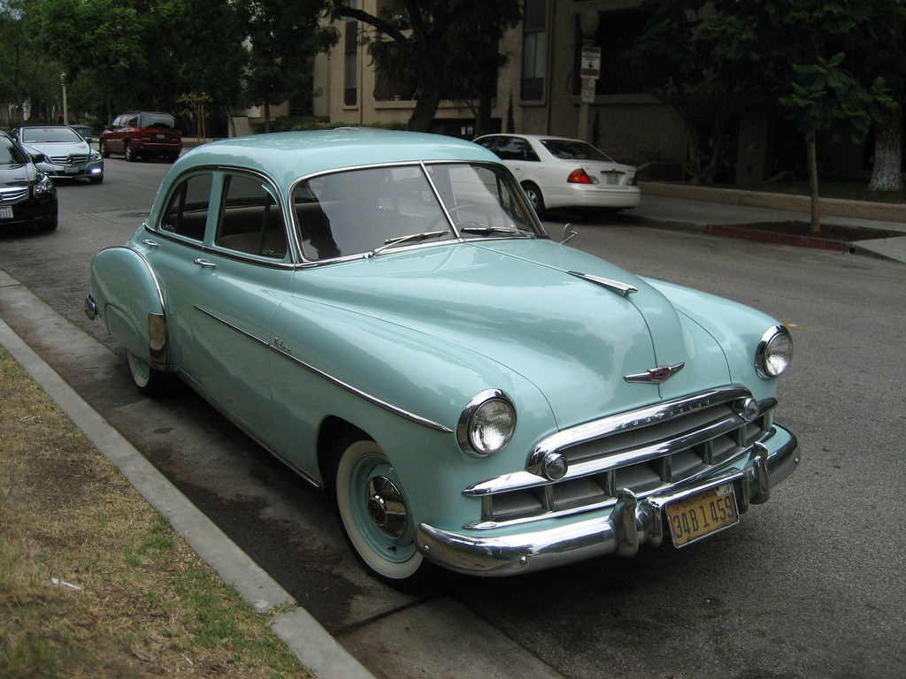 1949 chevrolet styleline de luxe 4 door sedan hipo 50 39 s