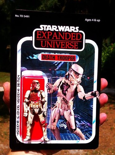 Custom Star Wars action figures by TD 5491 Phenix Customs - Zombie Death Stormtrooper