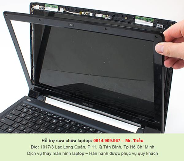 Các địa chỉ ở SG chuyên lau chùi và thay màn hình laptop giá rẻ và uy tín
