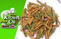 Bhindi Kurkuri – Ungal Kitchen Engal Chef