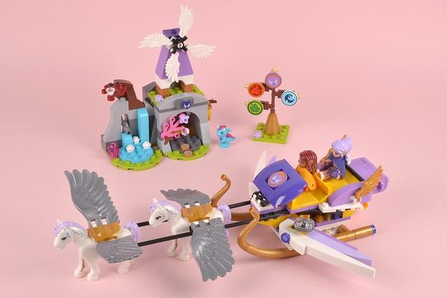 41077 Aira's Pegasus Sleigh