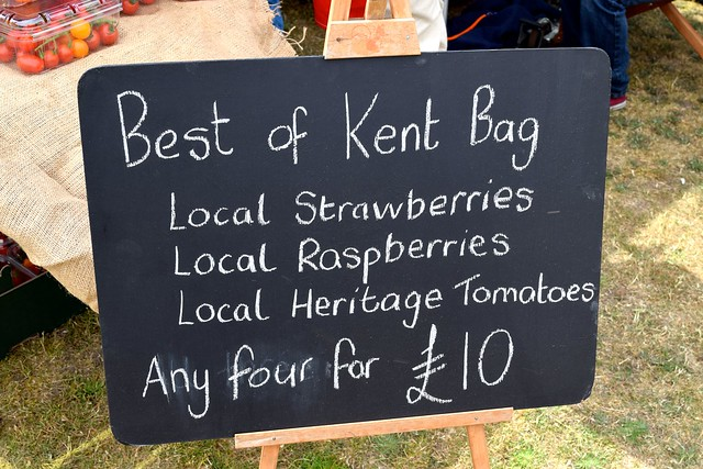 Best of Kent Bag at Walmer Food Festival