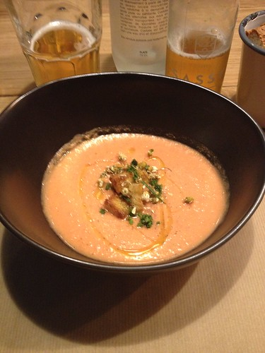 Gazpacho starter from NoGlu in Paris | by skyekat