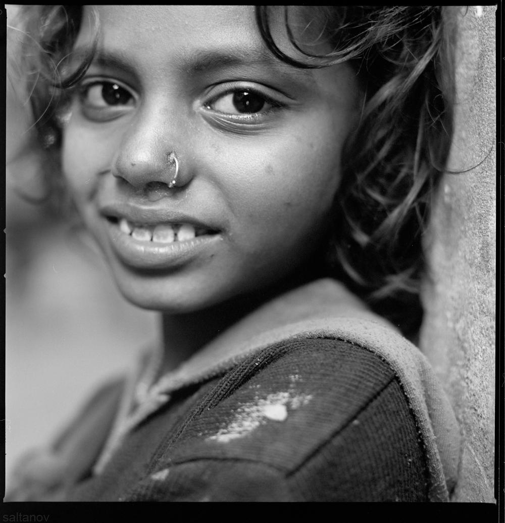 Girl from Varanasi.