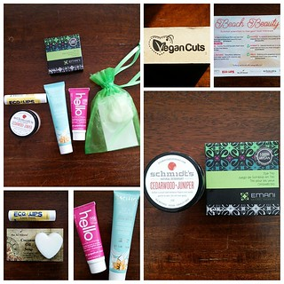 I have a subscription box problem.  This is my first box from Vegan Cuts. #vegancutsbeautybox | by reader of the pack