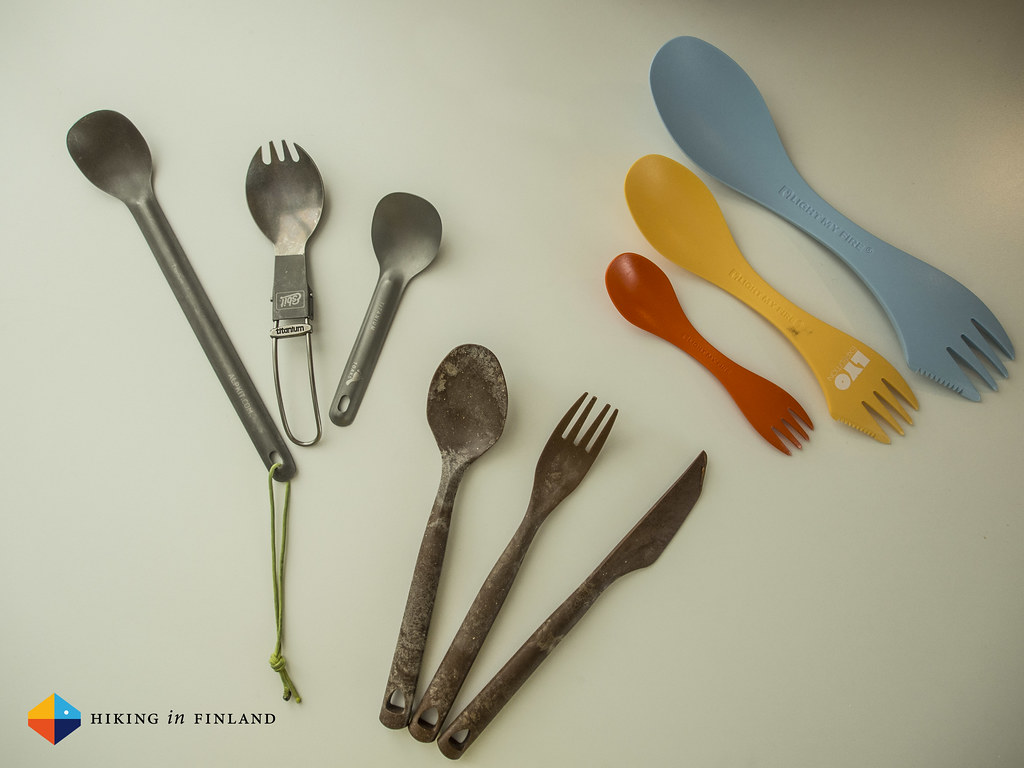 Spoon or Spork, Titanium or Plastik?