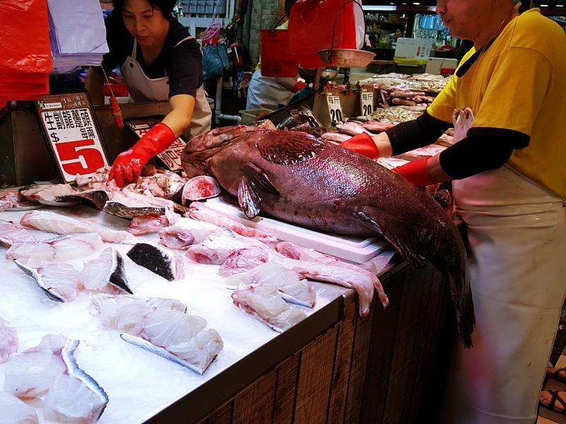 Seafood Market Hong Kong