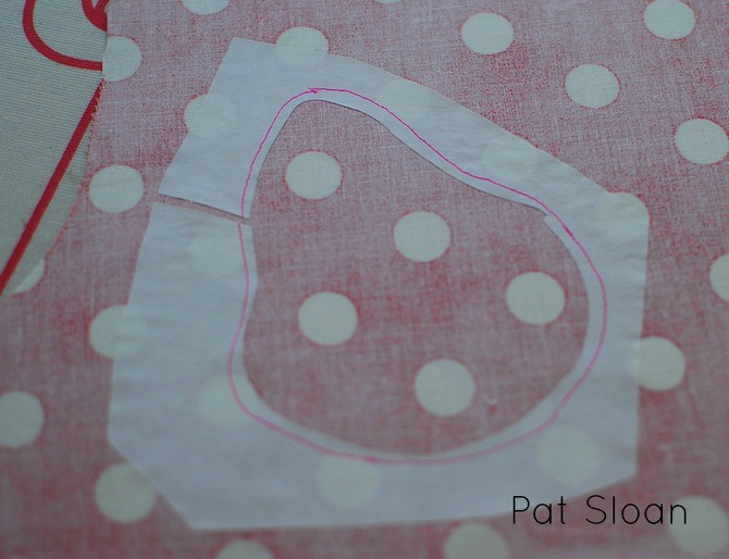 Pat Sloan Fusible Applique tutorial 7