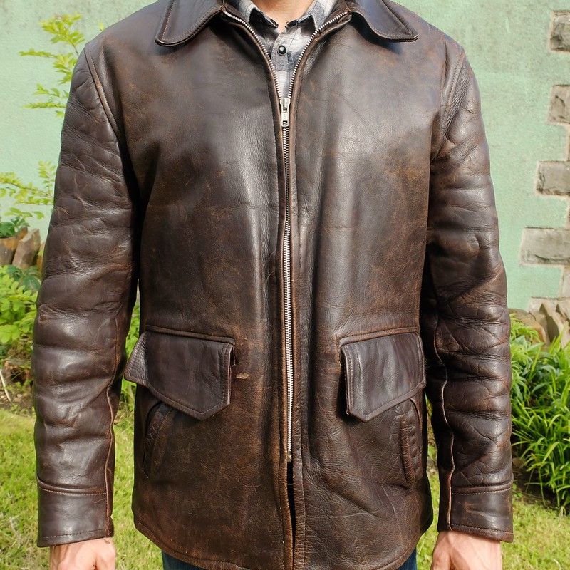 1940s motorcycle jacket