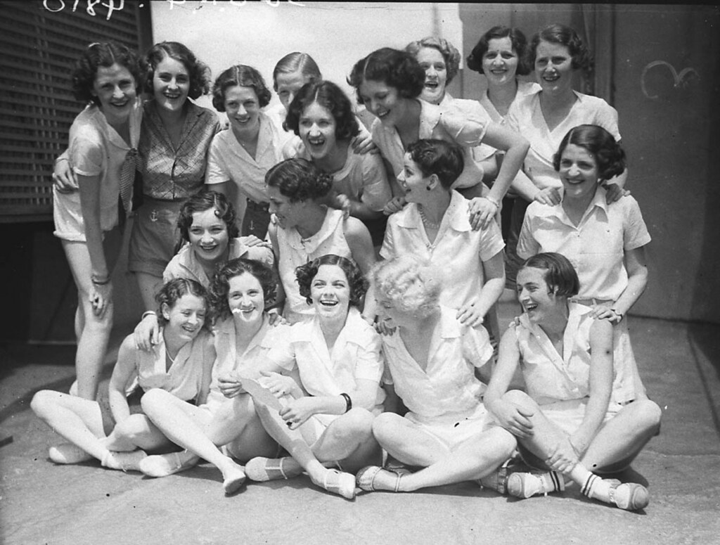 ... Physical Culture Class, 1934 | by State Library of New South Wales  collection