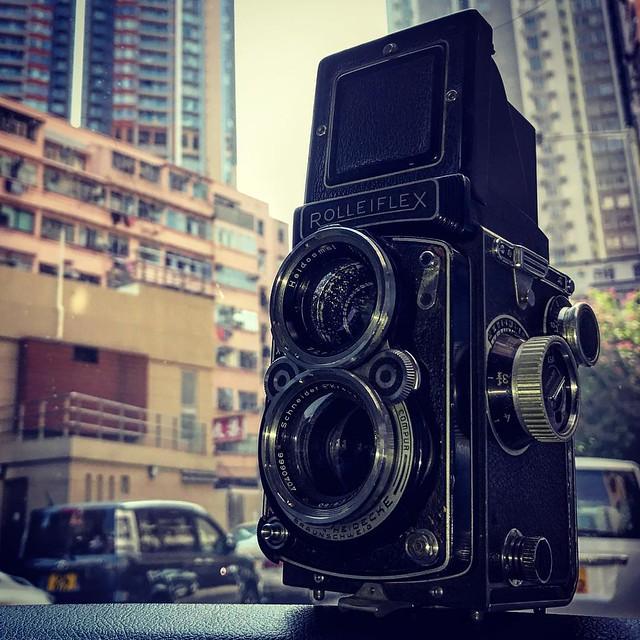 Rolleiflex 2.8C  維修後小試