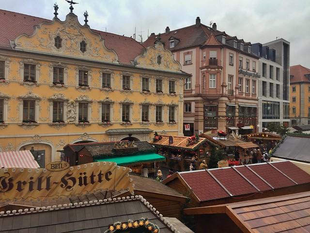 Mercado de Navidad de Würzburg (Norte de Baviera, Alemania)
