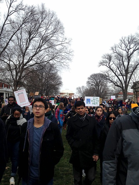 Protest at UVA