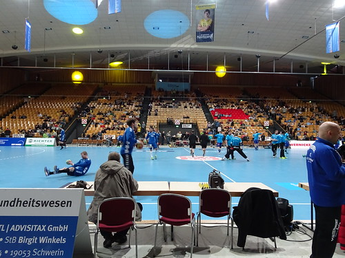 Mecklenburger Stiere Schwerin 33:22 VfL Fredenbeck