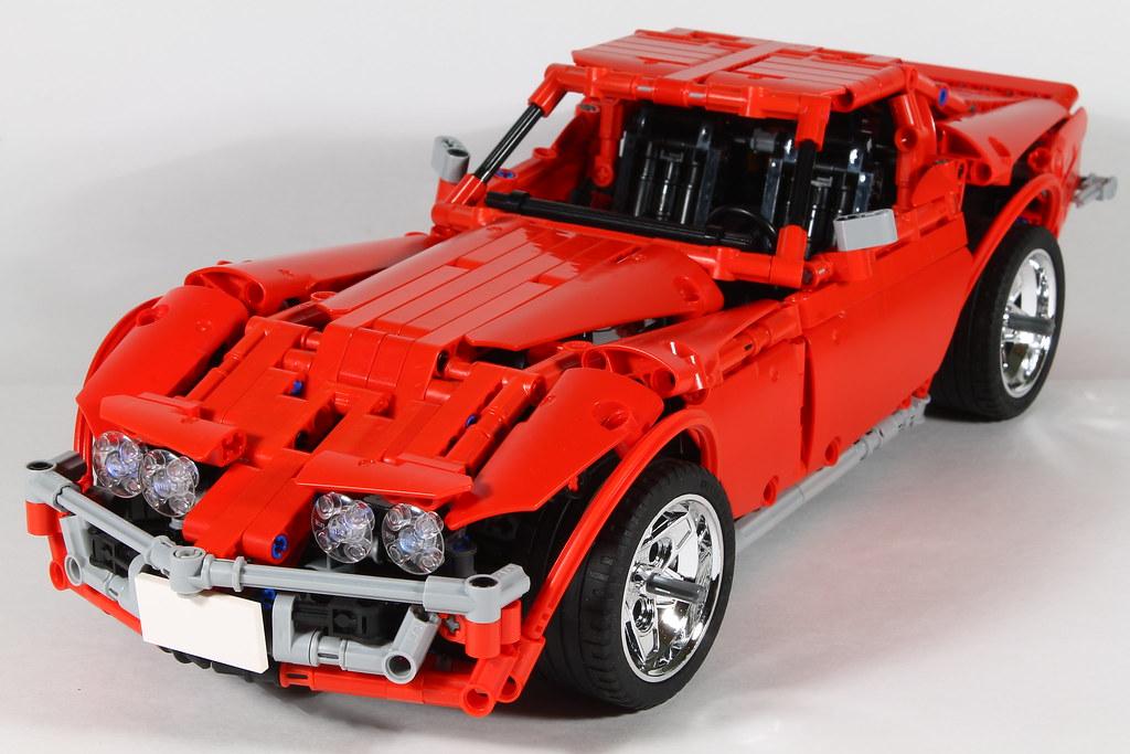 moc corvette c3 stingray page 5 lego technic. Black Bedroom Furniture Sets. Home Design Ideas