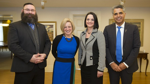 Premier Notley welcomes new cabinet ministers