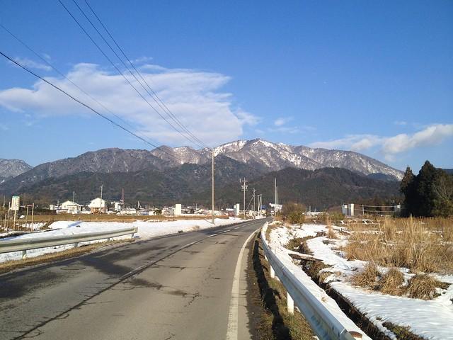 入道ヶ岳 県道560号より