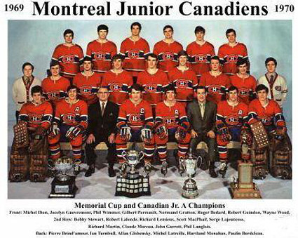 1969-70 Montreal Jr Canadiens team