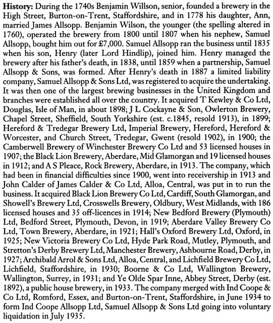 Allsopp-brewing-industry-history