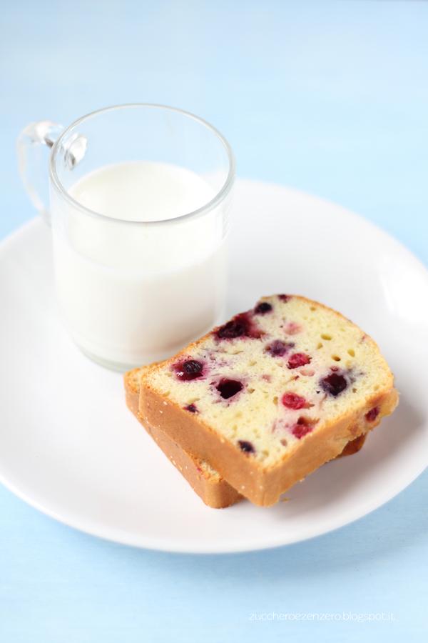 Cake allo yogurt e frutti di bosco