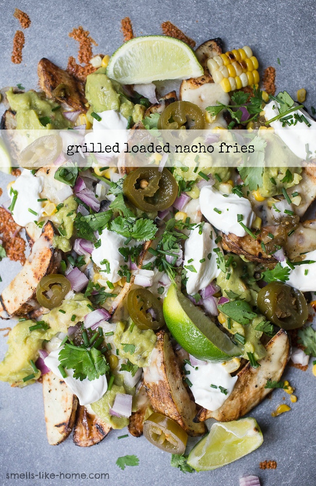 Grilled Loaded Nacho Fries