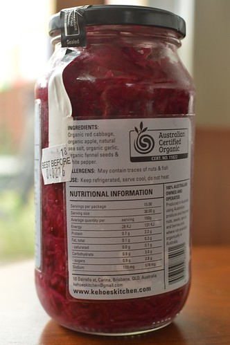 Kehoe's sauerkraut