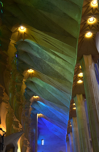 Gaudi's La Sagrada Familia Cathedral