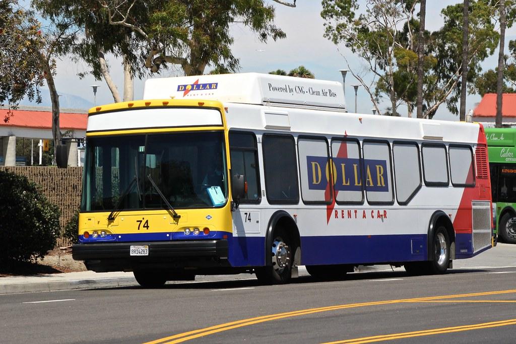 El Dorado National Axess Bus Near Los