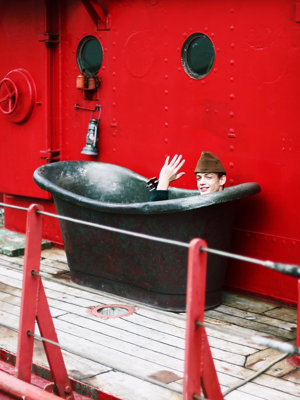 charlie in a tub blog