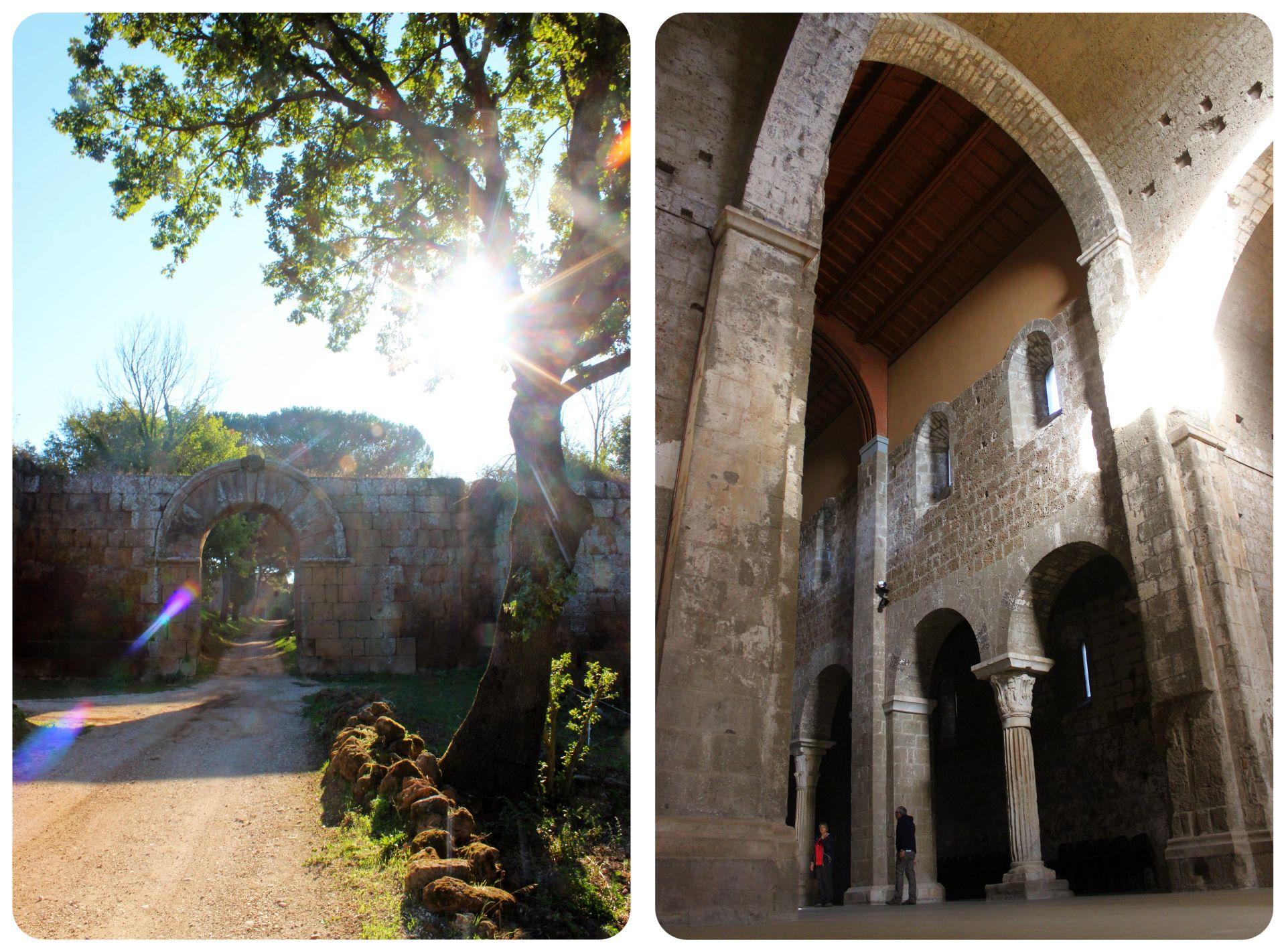 Falerii Novi Gate and Faleria Church