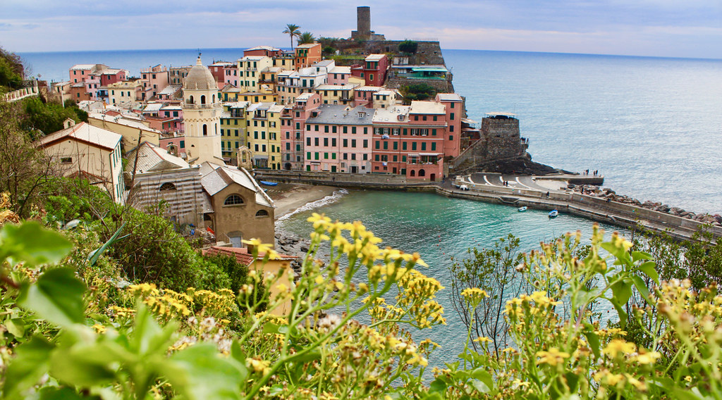 Vernazza, views from the trail