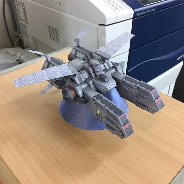Gundam Thunderbolt - Spartan Paper Craft