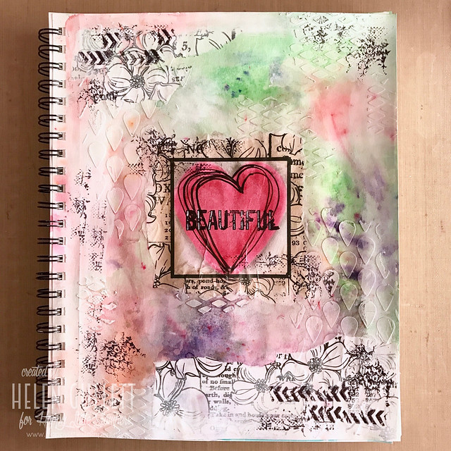 February Art Journal: Beautiful