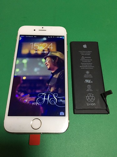 270_iPhone6のフロントパネルガラス割れ&バッテリー交換 | by Smapho_Repair_House