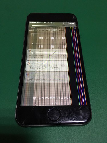 278_iPhone6のフロントパネル液晶割れ | by Smapho_Repair_House