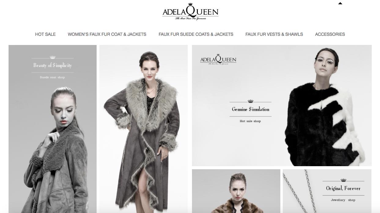 Adela Queen for custom faux furs