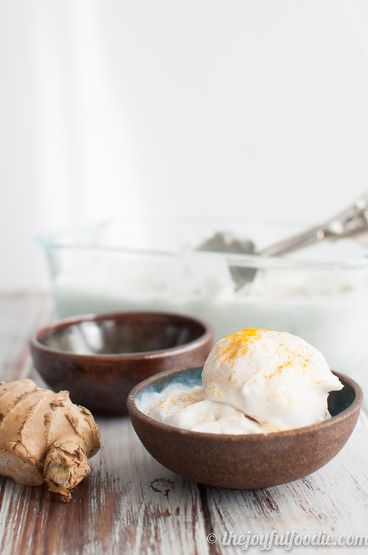 Step up your ice cream game with fragrant lemongrass and spicy ginger all in a creamy coconut base. Oh, and it happens to be vegan, too.