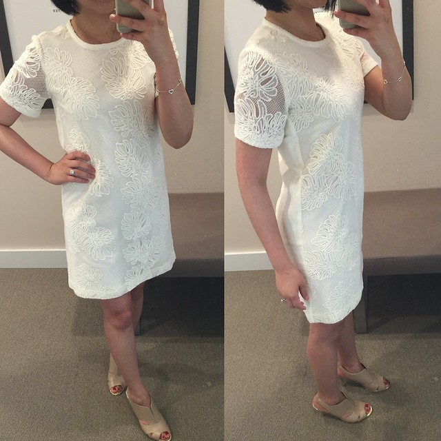 LOFT Stitched Palm Dress, size XXS regular (review here)